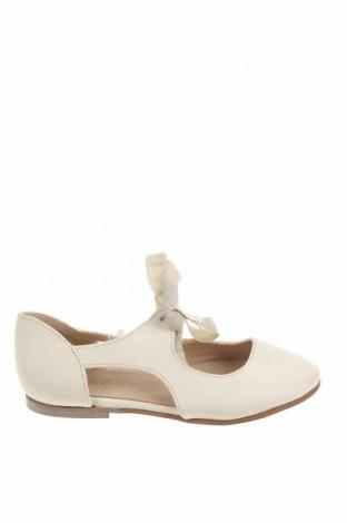 Детски обувки Zara, Размер 26, Цвят Бял, Естествена кожа, Цена 19,75лв.