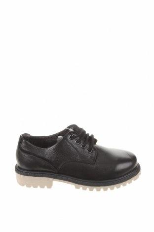 Детски обувки Zara, Размер 32, Цвят Черен, Естествена кожа, Цена 59,25лв.