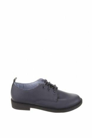 Детски обувки Zara, Размер 32, Цвят Син, Еко кожа, Цена 44,25лв.