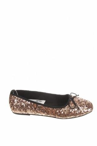 Dětské boty  Zara, Velikost 37, Barva Zlatistá, Textile , Cena  249,00Kč