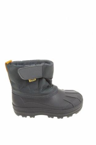 Детски обувки Zara, Размер 25, Цвят Сив, Текстил, еко кожа, Цена 43,50лв.