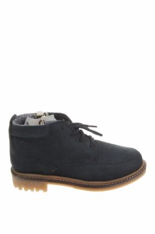 Детски обувки Zara, Размер 30, Цвят Син, Естествен велур, Цена 74,25лв.