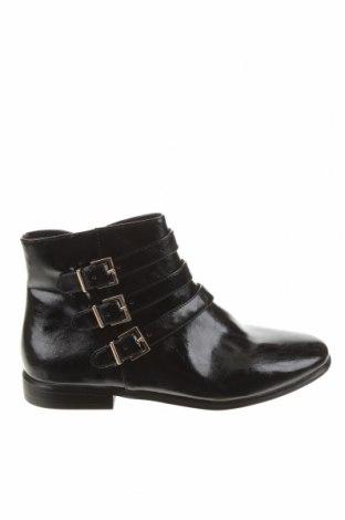 Детски обувки Zara, Размер 37, Цвят Черен, Еко кожа, Цена 51,75лв.