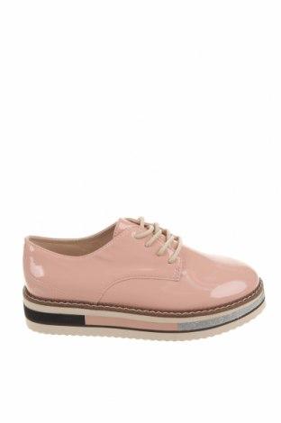 Детски обувки Zara, Размер 32, Цвят Розов, Еко кожа, Цена 44,25лв.
