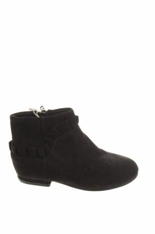 Încălțăminte pentru copii Zara, Mărime 26, Culoare Negru, Textil, Preț 48,52 Lei