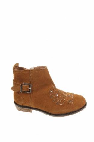 Детски обувки Zara, Размер 30, Цвят Бежов, Естествен велур, Цена 66,75лв.
