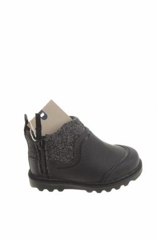 Детски обувки Zara, Размер 21, Цвят Сив, Текстил, полиуретан, Цена 42,00лв.