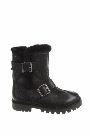 Детски обувки Zara, Размер 33, Цвят Черен, Естествена кожа, Цена 74,25лв.