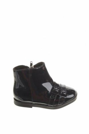 Детски обувки Zara, Размер 22, Цвят Черен, Еко кожа, Цена 39,00лв.