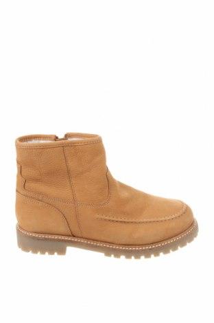 Детски обувки Zara, Размер 34, Цвят Бежов, Естествена кожа, Цена 74,25лв.