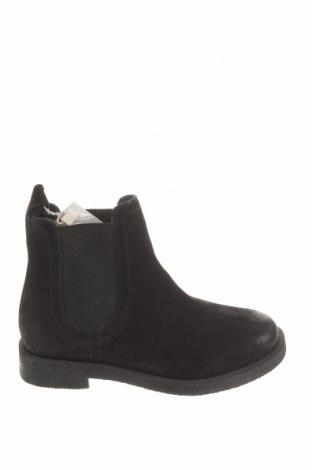 Детски обувки Zara, Размер 28, Цвят Черен, Естествена кожа, Цена 34,65лв.