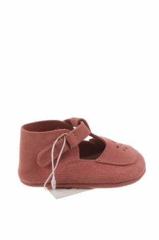 Dětské boty  Zara, Velikost 15, Barva Růžová, Pravá kůže, Cena  641,00Kč