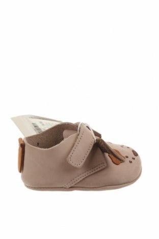 Dětské boty  Zara, Velikost 15, Barva Béžová, Pravá kůže, Cena  587,00Kč