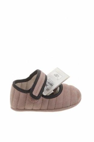 Dětské boty  Zara, Velikost 15, Barva Fialová, Přírodní velur , Cena  587,00Kč