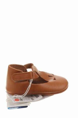 Dětské boty  Zara, Velikost 15, Barva Hnědá, Pravá kůže, Cena  641,00Kč