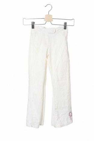 Παιδικό παντελόνι Kenzo, Μέγεθος 7-8y/ 128-134 εκ., Χρώμα Λευκό, 96% βαμβάκι, 4% ελαστάνη, Τιμή 35,38€