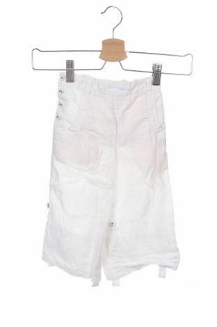 Pantaloni pentru copii Noa Noa, Mărime 2-3y/ 98-104 cm, Culoare Alb, In, Preț 59,21 Lei