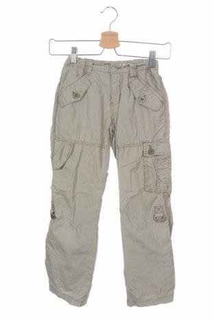 Детски панталон S.Oliver, Размер 8-9y/ 134-140 см, Цвят Бежов, Памук, Цена 17,25лв.