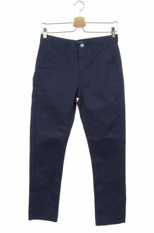 Dětské kalhoty  Tommy Hilfiger, Velikost 13-14y/ 164-168 cm, Barva Modrá, 97% bavlna, 3% elastan, Cena  443,00Kč