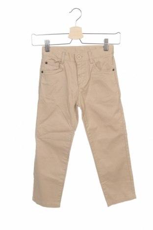 Dětské kalhoty  ZY kids, Velikost 4-5y/ 110-116 cm, Barva Béžová, Bavlna, Cena  391,00Kč