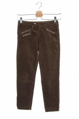 Dětské kalhoty  Zara, Velikost 9-10y/ 140-146 cm, Barva Hnědá, 98% bavlna, 2% elastan, Cena  347,00Kč