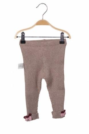 Dětské kalhoty  Zara, Velikost 9-12m/ 74-80 cm, Barva Béžová, 50% viskóza, 29% polyester, 21% polyamide, Cena  420,00Kč
