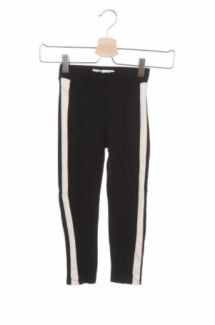 Dětské kalhoty  Zara, Velikost 5-6y/ 116-122 cm, Barva Černá, 72% viskóza, 24% polyamide, 4% elastan, Cena  384,00Kč