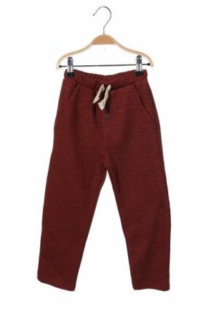 Dětské kalhoty  Zara, Velikost 18-24m/ 86-98 cm, Barva Hnědá, 72% bavlna, 28% polyester, Cena  420,00Kč
