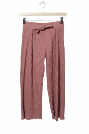 Dětské kalhoty  Zara, Velikost 12-13y/ 158-164 cm, Barva Růžová, 96% bavlna, 4% elastan, Cena  420,00Kč