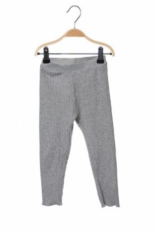 Dětské kalhoty  Zara, Velikost 18-24m/ 86-98 cm, Barva Šedá, 68% polyester, 27% bavlna, 5% elastan, Cena  479,00Kč