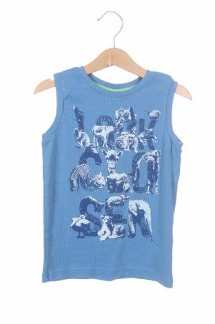 Детски потник Esprit, Размер 5-6y/ 116-122 см, Цвят Син, Памук, Цена 13,50лв.