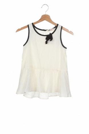 Maiou pentru copii H&M, Mărime 8-9y/ 134-140 cm, Culoare Alb, Poliester, Preț 41,94 Lei