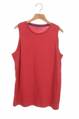 Μπλουζάκι αμάνικο παιδικό Mo, Μέγεθος 11-12y/ 152-158 εκ., Χρώμα Κόκκινο, Βαμβάκι, Τιμή 4,33€