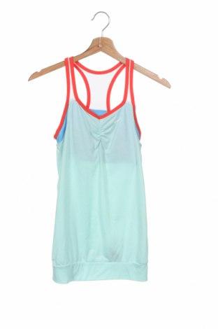 Μπλουζάκι αμάνικο παιδικό Nike, Μέγεθος 12-13y/ 158-164 εκ., Χρώμα Πράσινο, 85% πολυεστέρας, 15% βαμβάκι, Τιμή 16,24€