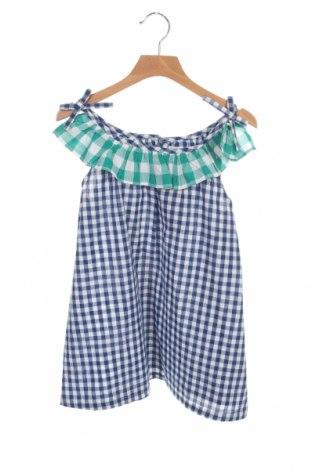 Μπλουζάκι αμάνικο παιδικό ZY kids, Μέγεθος 12-13y/ 158-164 εκ., Χρώμα Μπλέ, Βαμβάκι, Τιμή 4,69€