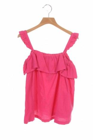 Μπλουζάκι αμάνικο παιδικό ZY kids, Μέγεθος 8-9y/ 134-140 εκ., Χρώμα Ρόζ , Βαμβάκι, Τιμή 4,96€