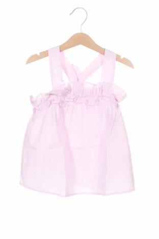Детски потник Zara, Размер 6-7y/ 122-128 см, Цвят Розов, Памук, Цена 19,50лв.