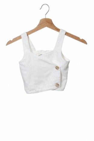 Μπλουζάκι αμάνικο παιδικό Zara, Μέγεθος 6-7y/ 122-128 εκ., Χρώμα Λευκό, Βαμβάκι, Τιμή 4,51€