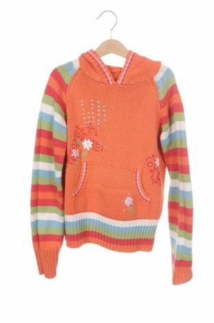 Детски пуловер S.Oliver, Размер 11-12y/ 152-158 см, Цвят Оранжев, 50% памук, 50% полиакрил, Цена 18,00лв.