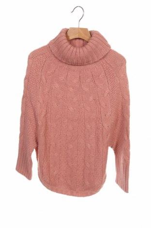 Παιδικό πουλόβερ ZY kids, Μέγεθος 13-14y/ 164-168 εκ., Χρώμα Ρόζ , Ακρυλικό, Τιμή 14,65€