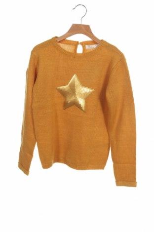 Παιδικό πουλόβερ ZY kids, Μέγεθος 8-9y/ 134-140 εκ., Χρώμα Κίτρινο, Ακρυλικό, Τιμή 17,64€
