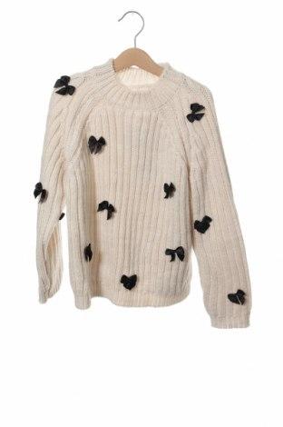 Παιδικό πουλόβερ Zara, Μέγεθος 7-8y/ 128-134 εκ., Χρώμα Εκρού, 65%ακρυλικό, 35% πολυεστέρας, Τιμή 9,56€