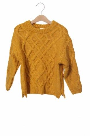 Παιδικό πουλόβερ Zara, Μέγεθος 2-3y/ 98-104 εκ., Χρώμα Κίτρινο, 90%ακρυλικό, 5% πολυεστέρας, 5% πολυαμίδη, Τιμή 11,66€