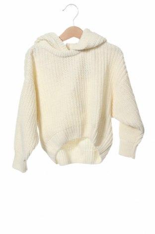 Παιδικό πουλόβερ Zara, Μέγεθος 5-6y/ 116-122 εκ., Χρώμα Εκρού, 76% πολυεστέρας, 24%ακρυλικό, Τιμή 14,65€