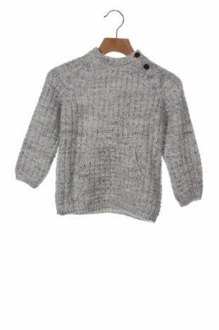 Παιδικό πουλόβερ Zara, Μέγεθος 18-24m/ 86-98 εκ., Χρώμα Γκρί, 93%ακρυλικό, 7% μαλλί, Τιμή 14,39€