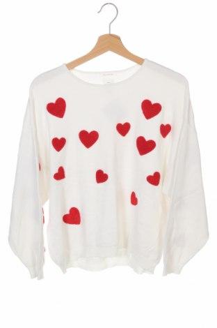 Dětský svetr  Zara Knitwear, Velikost 13-14y/ 164-168 cm, Barva Bílá, 78% viskóza, 22% polyamide, Cena  510,00Kč