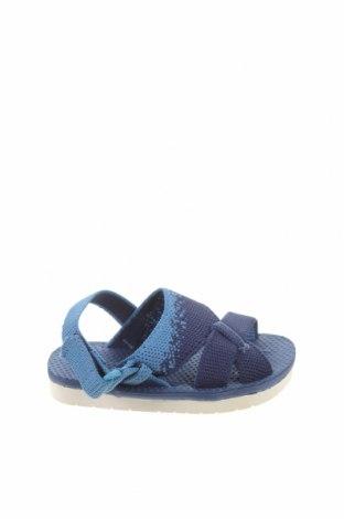 Детски сандали Zara, Размер 21, Цвят Син, Текстил, Цена 29,25лв.