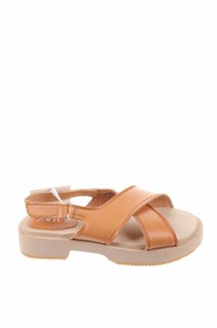 Детски сандали Zara, Размер 29, Цвят Кафяв, Еко кожа, Цена 36,75лв.
