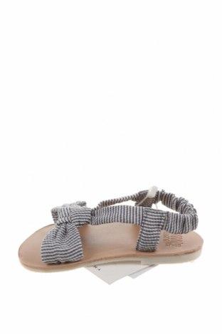 Детски сандали Zara, Размер 17, Цвят Син, Текстил, Цена 24,50лв.