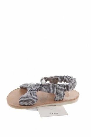Детски сандали Zara, Размер 15, Цвят Син, Текстил, Цена 24,50лв.